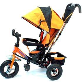 Новый Трехколёсный велосипед с надувными колесами