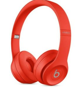 Beats Solo 3 wireless (PRODUCT) RED