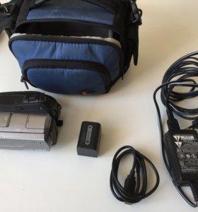 Видеокамера sony handycam hdd