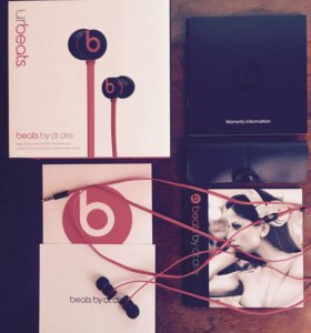 Наушники Monster Beats urBeats By Dr. Dre
