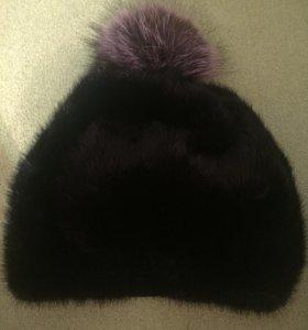 Норковая шапка Новая