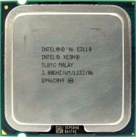 Серверный процессор. Intel Xeon E3110