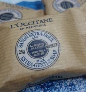 L'Occitane Milk Мыло туалетное экстра-мягкое