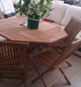 Комплект стол+ 4стула