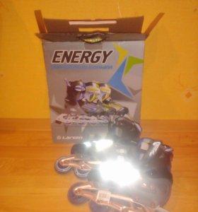 """Роликовые коньки ,, LARSEN energy """""""