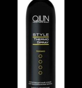 Термозащитный спрей для выпрямления волос Ollin