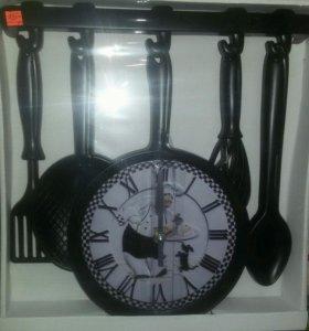 Часы-пано