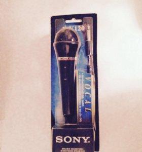 Новый микрофон Sony F-V120