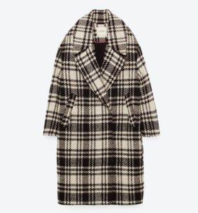 Пальто Zara оверсайз