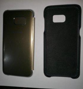Чехол и бампер б/у от Samsung GalaxyS7Edge
