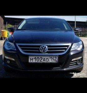Volkswagen passat cc 2011 год