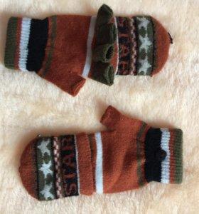 Продам новые Варежки-перчатки