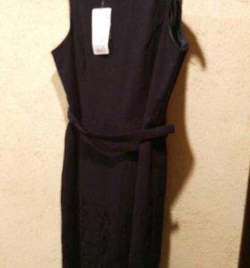 Платье темно-синее oodji 50-52р