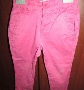 Джинсы розовые размер 98 (4)