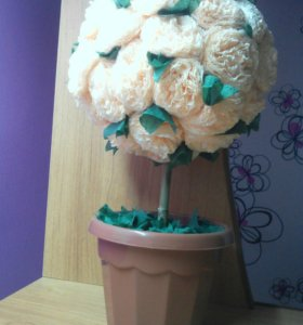 Декоративные цветки