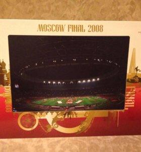 Постер - Лига чемпионов UEFA, Москва финал 2008!!!