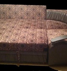 Абсолютно новый угловой диван