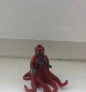 Лего воин кальмар