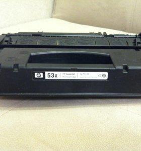Картридж 53х для принтера hp laserjet