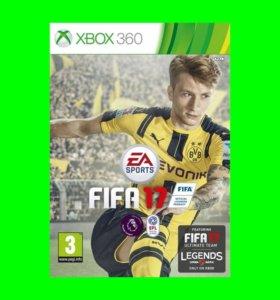 FIFA17 на XBOX 360