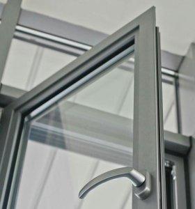 Алюминиевые окна.