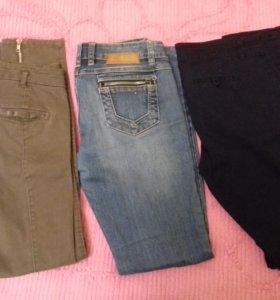 Брюки джинсы джемпера 42-44