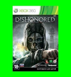 DISHONORED на XBOX 360