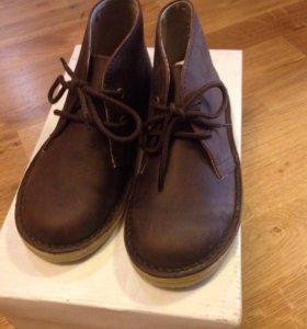 Ботинки новые нубук 30 размер