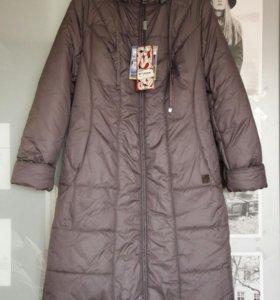 Легкое стеганое пальто, 48-50 р, новый, с бирками
