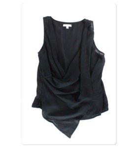 Блузка новая черная 48