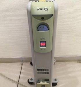 Обогреватель масляный радиатор Scarlett SC-1163