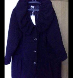 Пальто зимнее новое.