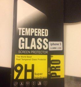 Защитное стекло - Все Модели iPhone и iPad