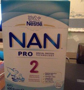 NAN 2 pro из Финляндии 600 гр и NAN 2 кисломолочны