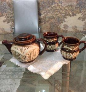 Набор чайник 2 кружки