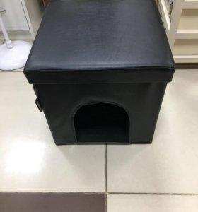 Банкетка с домиком для животного