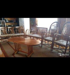 Мебель плетенная