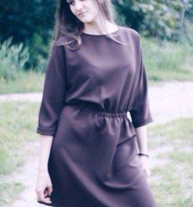 Шоколадное платье на заказ