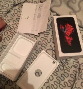 Коробка от iPhone 6s 64gb