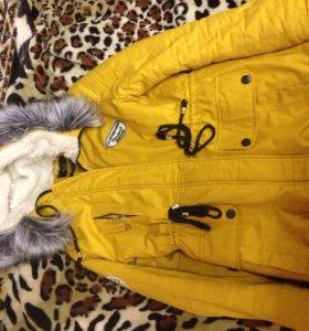 Куртка и шапки