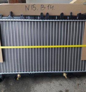 Радиатор Nissan Pulsar Almera N15