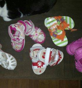 Обувь для девочки 25, 26, 27