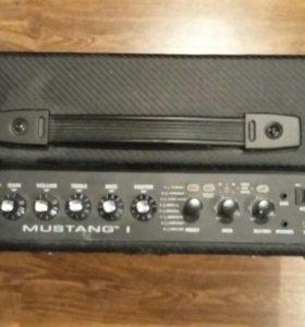 Гитарный усилитель Fender mustang 1 (v1)