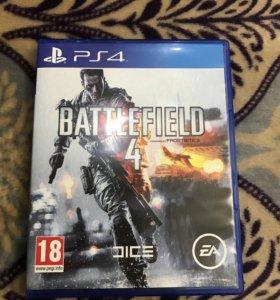 BATTEFIELD 4 б/у для PS-4