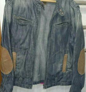 Куртка джинсовая мужская бесплатно