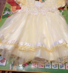Продам красивое платье 2-3 года
