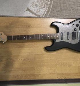 Электрогитара гитара fender squier stratocaster
