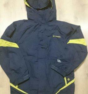 Продам куртку columbia 3 в 1 omni-tech 10-12 лет