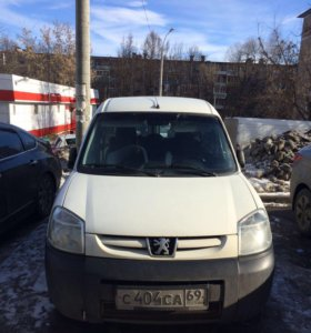 Peugeot Partner I Рейстайлинг