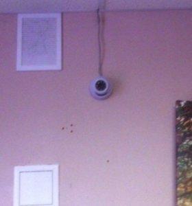 Камеры видеонаблюдения (2шт. )